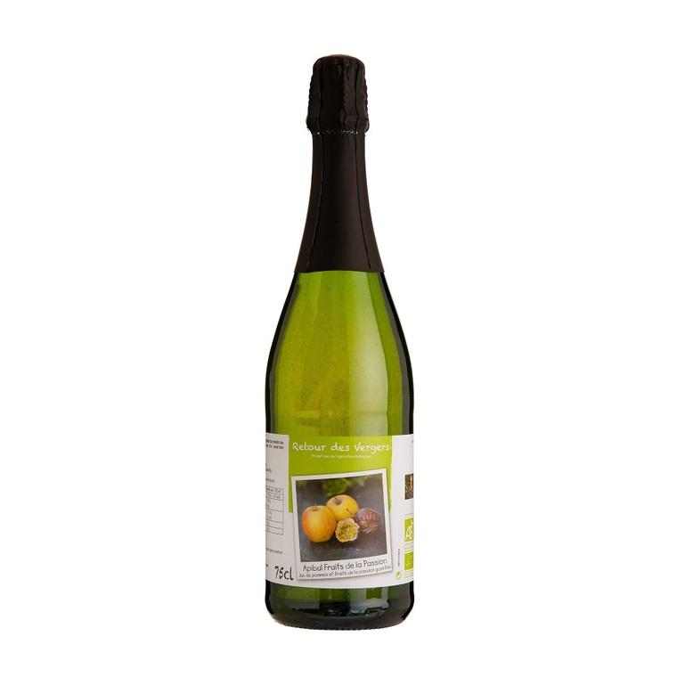 Pétillant sans alcool Apibul passion en bouteille de 75 cl 288384