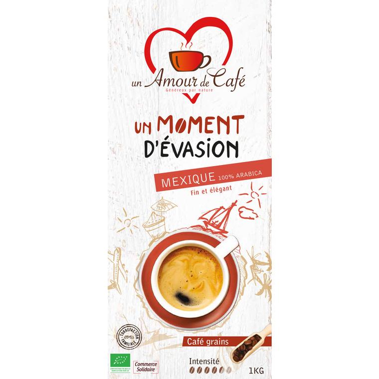 Café Bio Moment Évasion 100% Mexique - 1 kg 289150