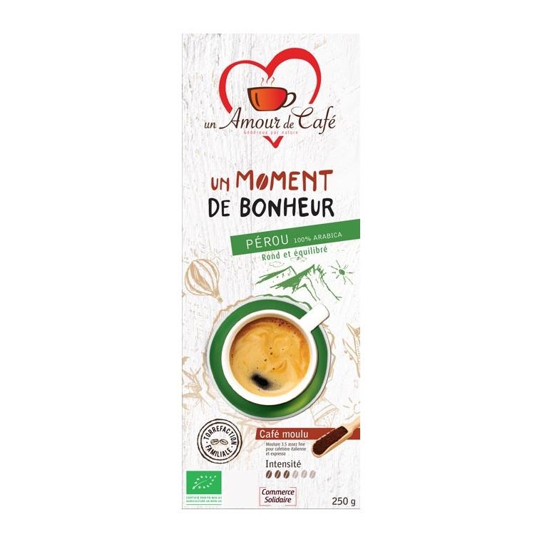 Café Bio Moment Bonheur 100% Pérou - 250 g 289152