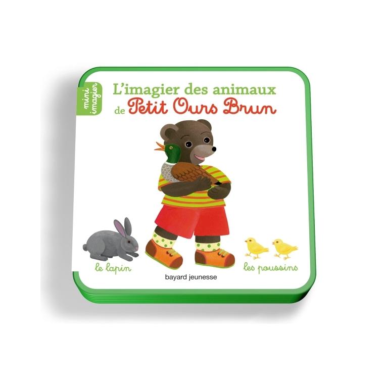 L'imagier des Animaux de Petit Ours Brun dès le plus jeune âge Bayard Jeunesse 289227