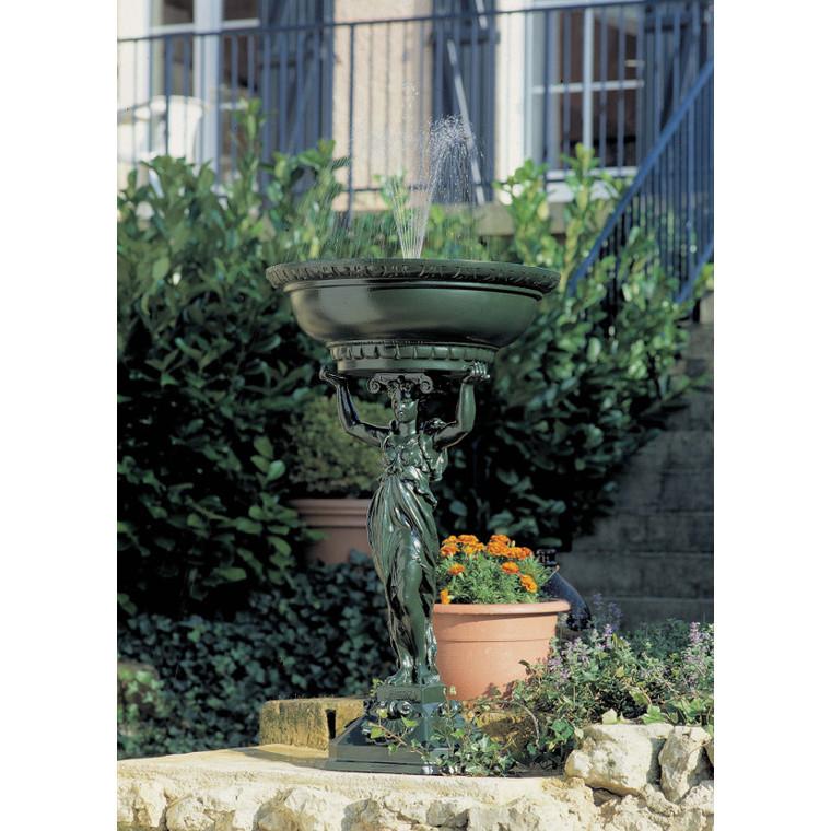 Fontaine Cariatide verte – 107 cm de haut 291898