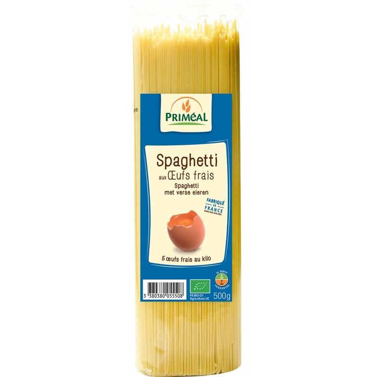 Spaghettis aux œufs bio - 500 gr 291971