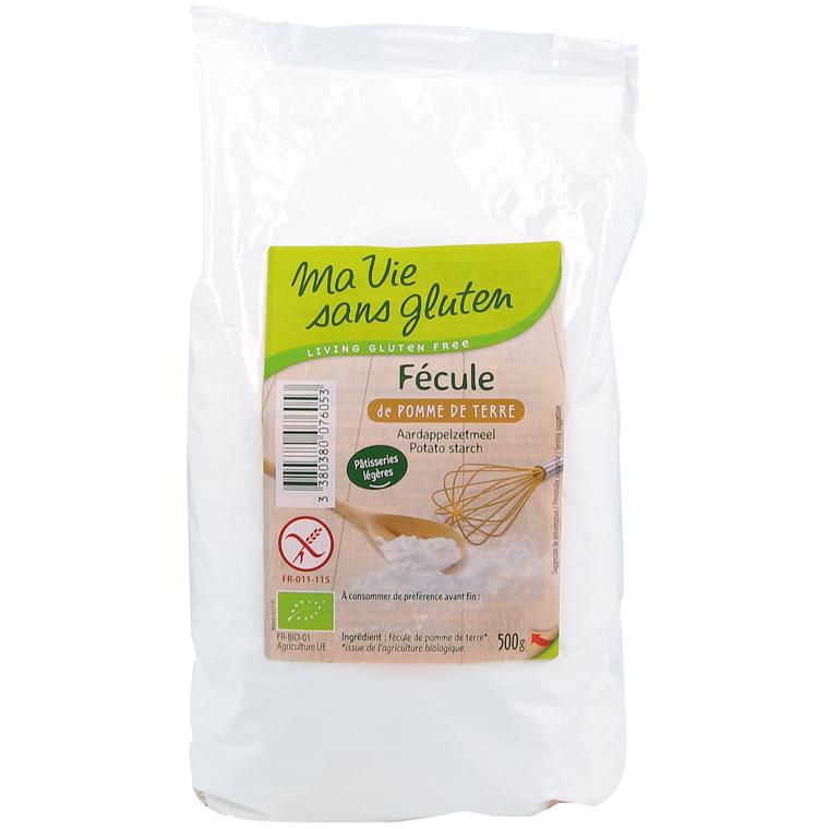 Fécule de pomme de terre sans gluten - 500 gr 291980