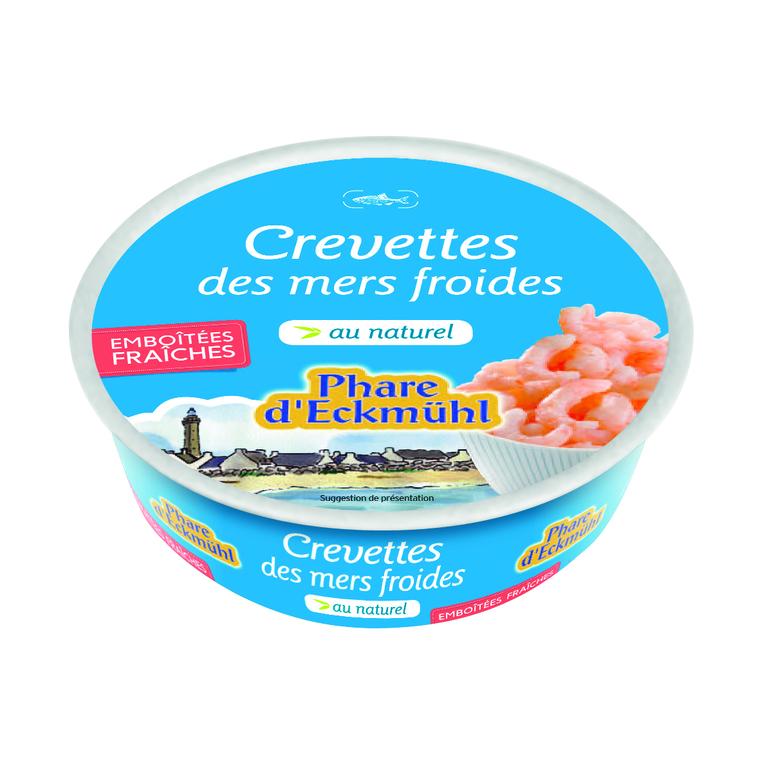 Crevettes au naturel bio en boite de 200 g 291994
