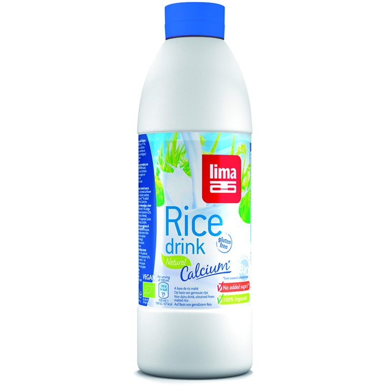 Rice drink calcium natural en bouteille de 1 L 292609