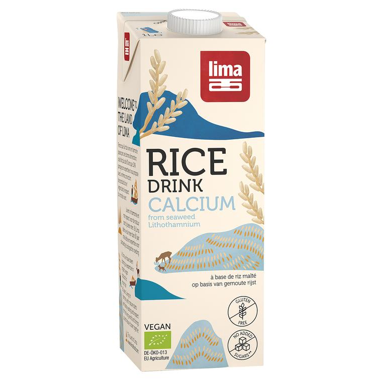 Rice drink calcium en brique de 1 L 292610