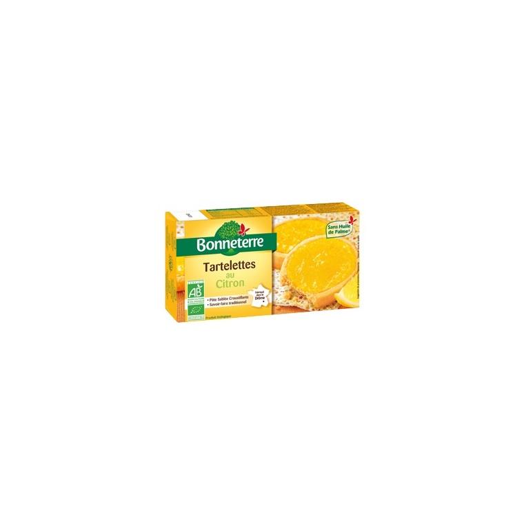 Tartelettes au citron Bonneterre bio 125 g 292721