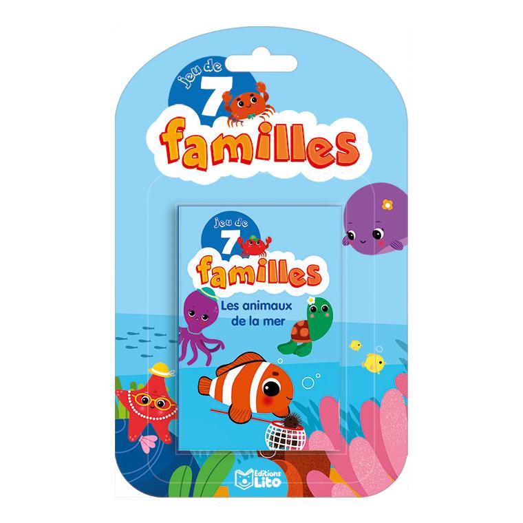 Les Animaux du Jardin Jeux des 7 Familles 5 ans Éditions LITO 293425