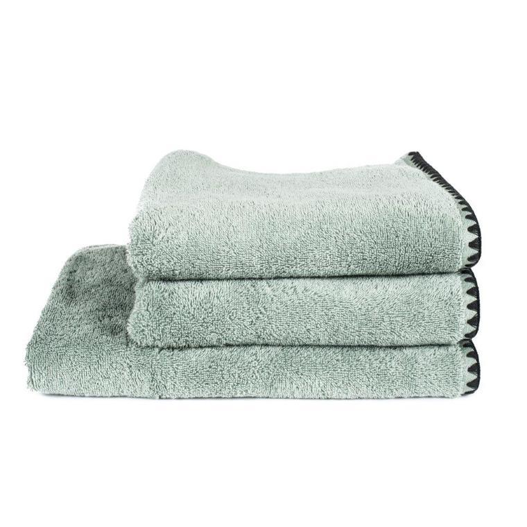 Serviette mini Issey Celadon en coton 30x50 cm 296856