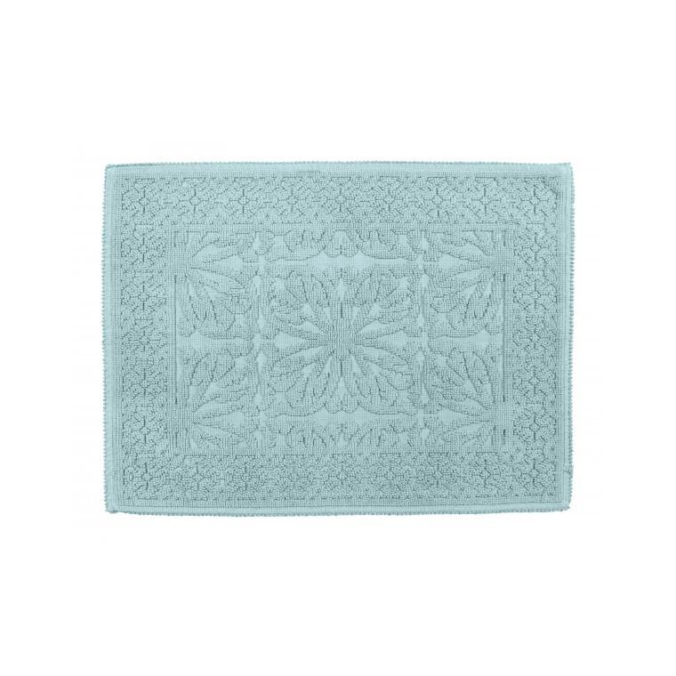 Tapis de bain Hammam Céladon en coton 60x80 cm 296872
