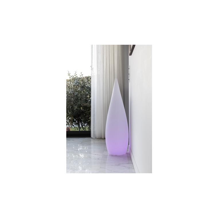 Grand cyprès lumineux blanc 150 cm de haut 297684