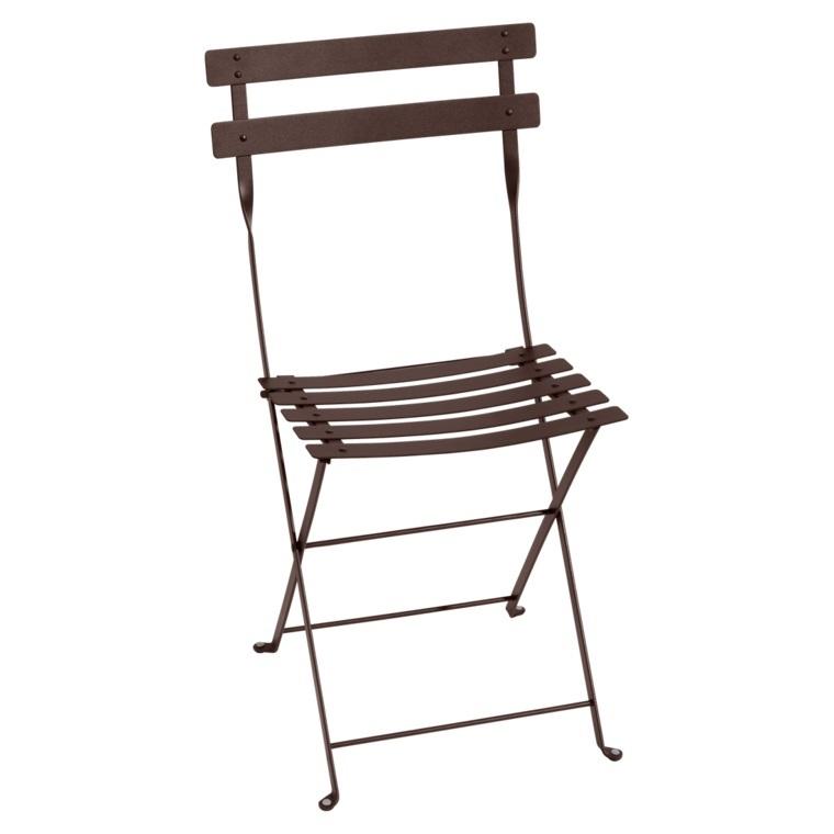 Lot de 2 chaises pliantes FERMOB rouille 298006