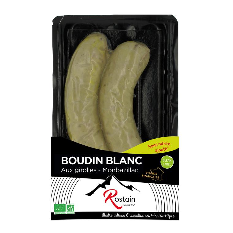 Boudin blanc aux girolles et au Montbazillac x2 (200g) 298597