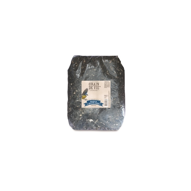 Graines de tournesol noires - 5 kg 298723