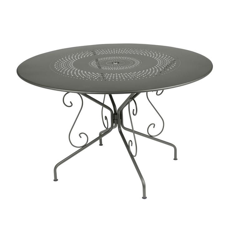 Table Ronde Montmartre D.117 Couleur Romarin : Tables de jardin ...