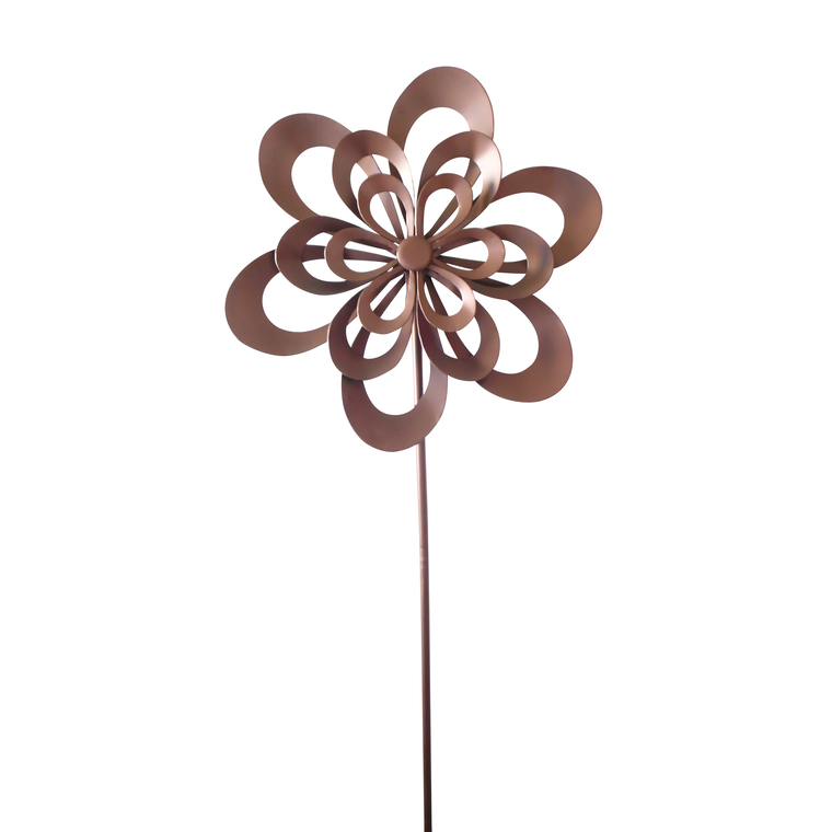 Eolienne Fleur Home To Garden Bronze Decoration Et Amenagement Du