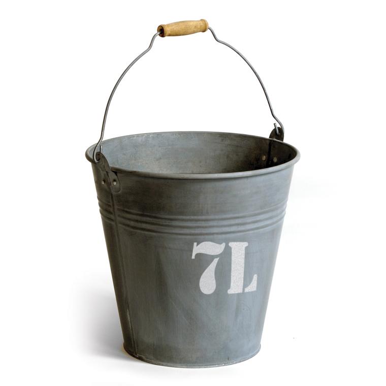 Seau en zinc N°7L : Décoration du jardin MC COLLECTION ...