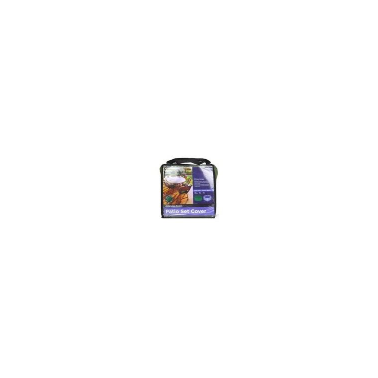 Housse salon jardin rond H 80 cm x D 320 cm : Accessoires tables et ...