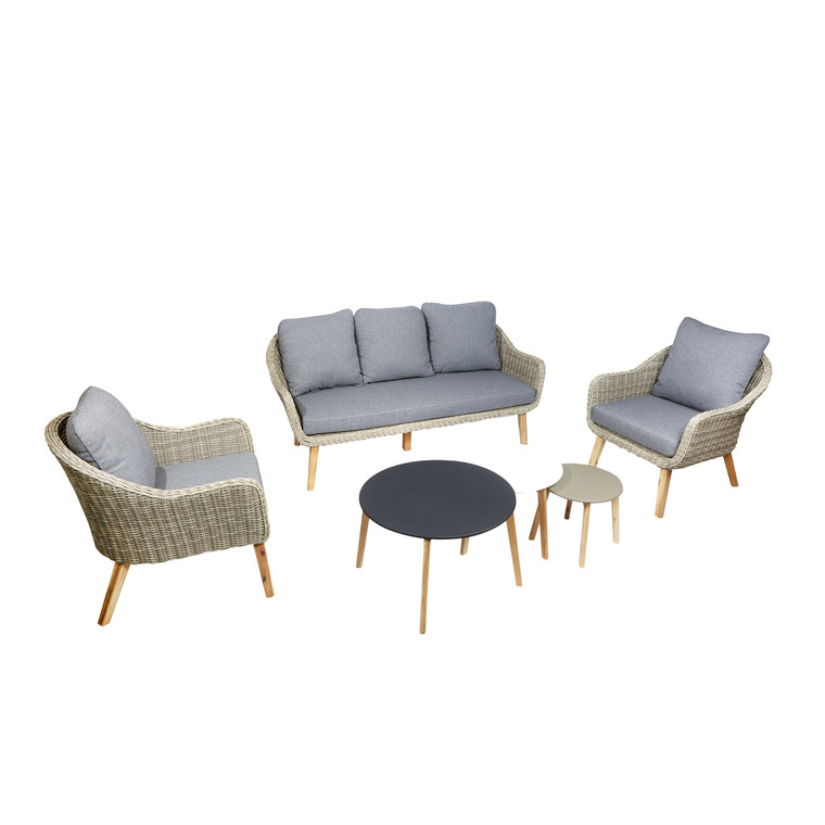 Salon bas Meije : Salons de jardin AUTRES MARQUES mobilier ...