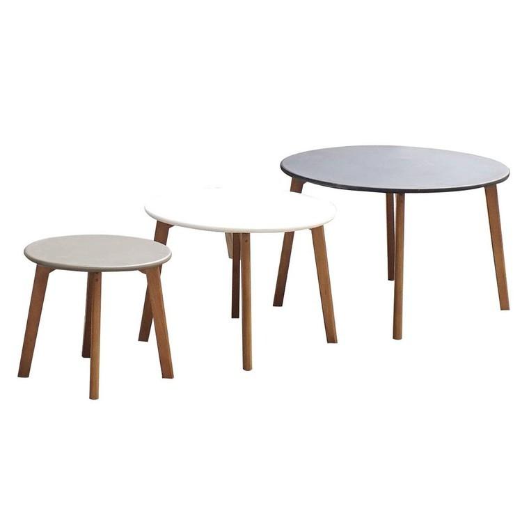 Lot De 3 Tables Gigognes Tables Basses Autres Marques