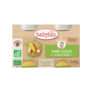 Petits pots de maïs doux Babybio 2 x 130 g 300883