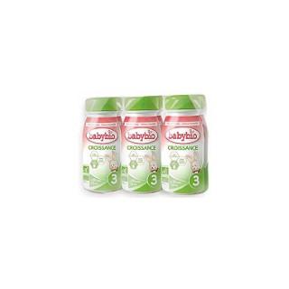 Lait croissance liquide Babybio 6 x 25 cl 300921