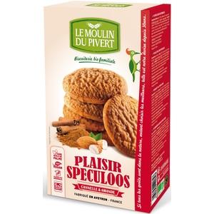 Biscuits Plaisir Spéculoos bio en boîte de 175 g 300955
