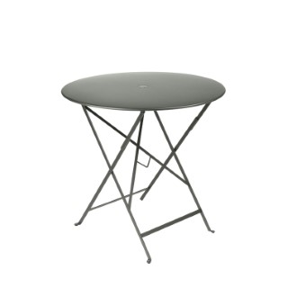 Table pliante ronde couleur Romarin 77 x h 74 cm 300982