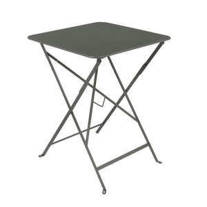 Table pliante carrée couleur romarin 57 x 57 x 74 cm 300983