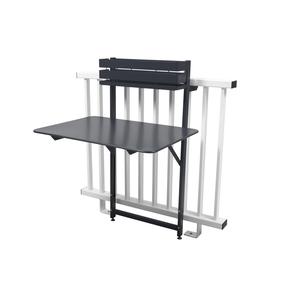 Table balcon pliante Bistro Urbain Carbone 300989
