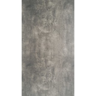 Plateau de table fin HPL couleur gris ciment 250x100x1,3 cm 301283