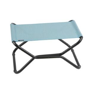 Repose-jambes pliable couleur Aqua bleue 301411