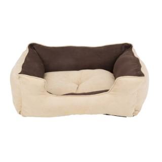 Panier marron clair pour chien Scruffs classic taille L 75 x 60 cm 302306