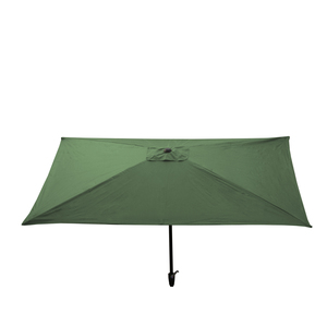 Parasol rectangle 2 m x 3 m couleur menthe à l'eau 304588