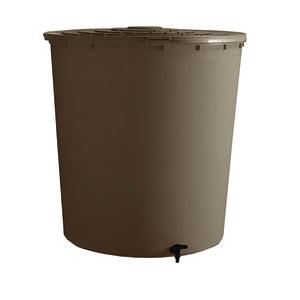 Récupérateur à eau rond couleur taupe - 200 L 304918