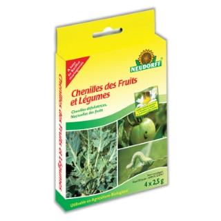 Chenilles fruits et légumes 2,5 g X4 304943