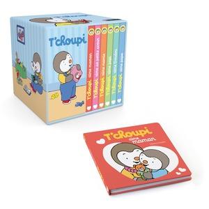 Ma petite bibliothèque T'choupi éditions Éveil petite enfance 308007