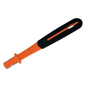 Affûteur a pastille carbure bi-matière orange et noir – 15 cm 309088