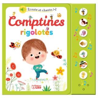 Comptines Rigolotes Écoute et Chante 18 mois Éditions Lito 309540