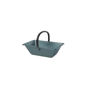 Panier de ramassage couleur vert métal – 18L 309635
