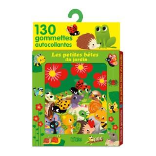 Les Petites Bêtes du Jardin Ma Boîte à Gommettes 3 ans Éditions Lito 309717