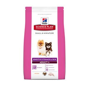 Croquettes canine small et miniature sensitive 1,5 kg 309995