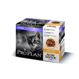 Gelée pour chat junior au poulet Pro plan 10 x 85 g 310072