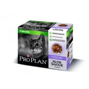 Gelée pour chat stérilisé à la dinde Pro plan 10 x 85 g 310075