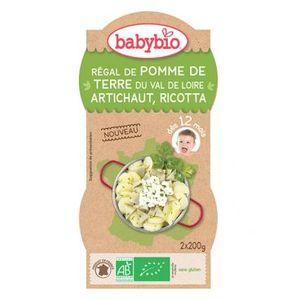 Régal de pomme de terre artichaut et ricotta Babybio 2 x 200 g 310494