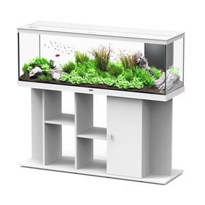 Meuble Style pour aquarium blanc 150x45x80 cm 310528