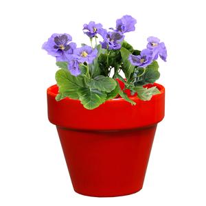 Pot horticole en terre cuite émaillée Rouge – D14 x H12 310726