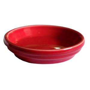 Soucoupe pot horticole rouge Ø17 x H3 cm 310734