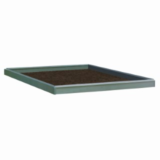 Embase acier pour serre 3,8 m² 311287