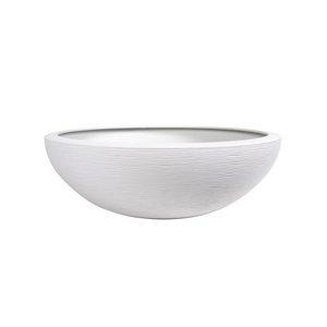 Vasque Graphit Blanc cérusé - D59 x H21 312474